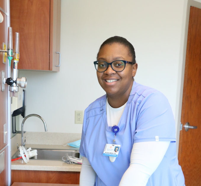 BEHIND THE MASK: Mylekia Ambers, CNA: the Mother Behind the Medicine