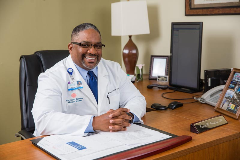 BEHIND THE MASK: Dr. Damon Brantley