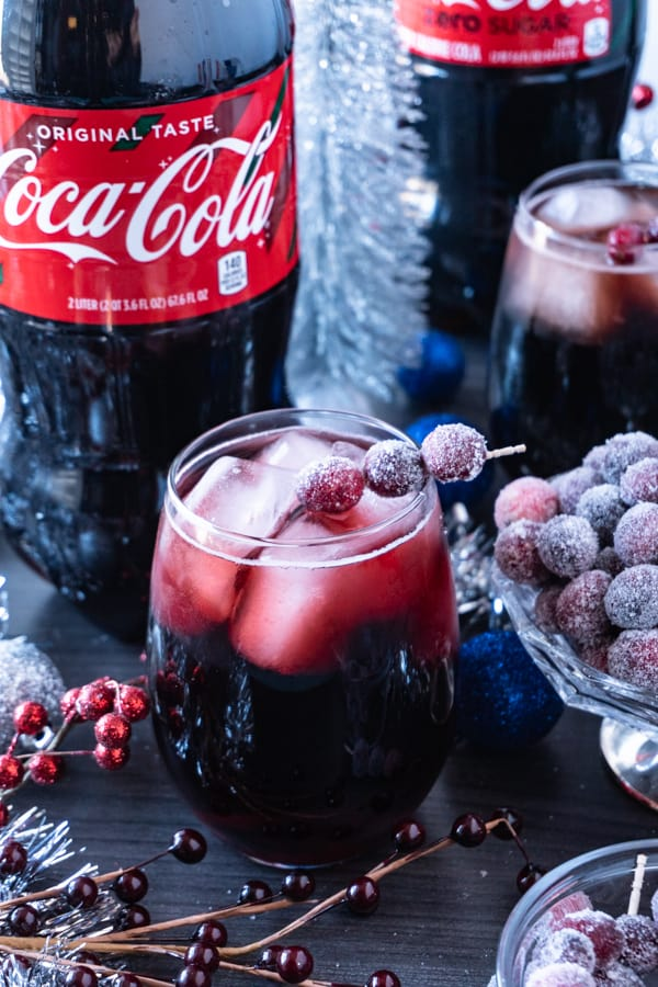 THIRSTY THURSDAY: Cranberry Vanilla Coke-tail