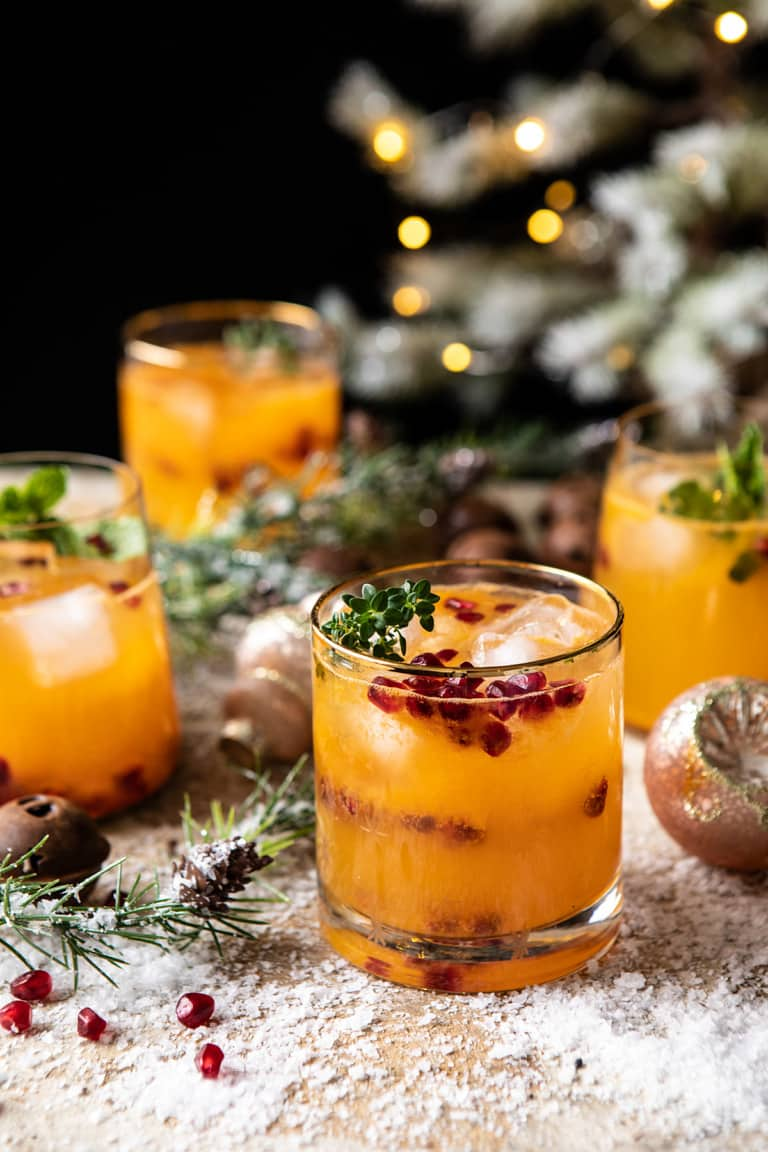 THIRSTY THURSDAY: Holly Jolly Christmas Citrus Cocktail