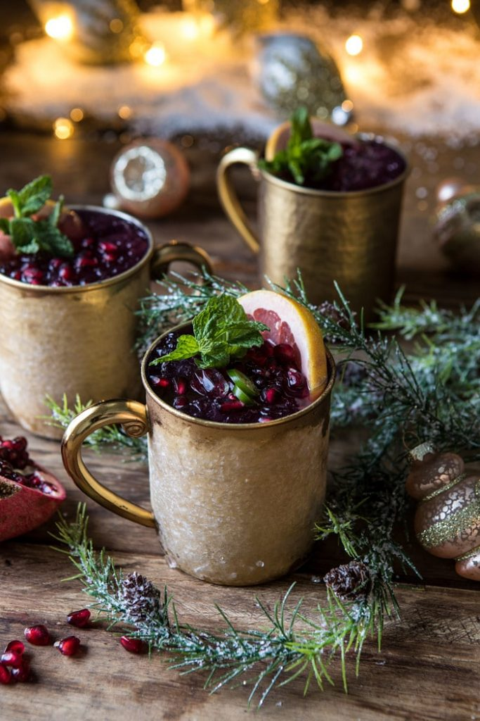 THIRSTY THURSDAY: Spicy Pomegranate Moscow Mule