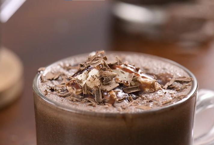 THIRSTY THURSDAY: Boozy Frozen Hot Chocolate