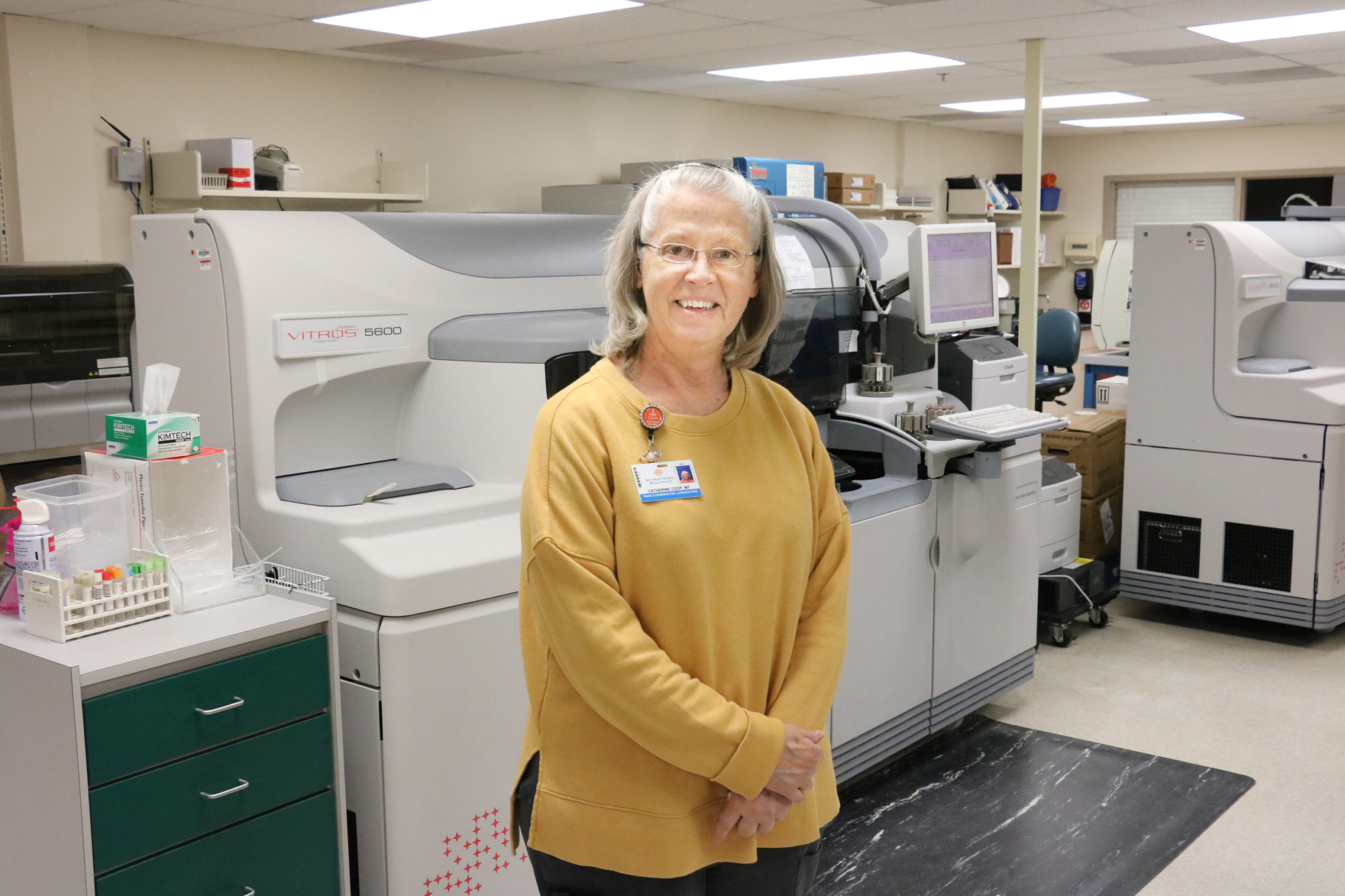 Catherine Coop, MT: Running the Well-oiled Machine